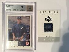 2004 UPPER DECK SP AUTHENTIC BUYBACKS DEREK JETER FORTYMAN #1/30 + BUYBACK CARD