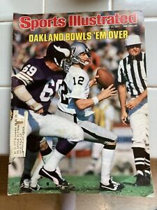 1977 Sports Illustrated Ken Stabler Raiders