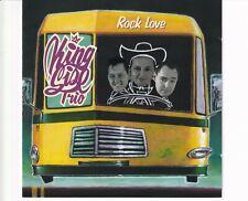 CD KINGSIZE TRIOrock loveROCKABILLY VG++ (A5094)