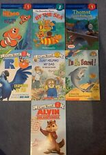 Lot Of 7 I Can Read Books Step Into Reading Levels 1 and 2 Alvin Thomas Rio Nemo