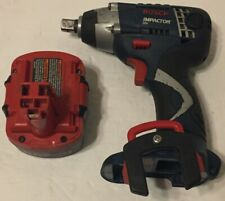 "Bosch 12 Volt 1/2"" Impact Wrench #22612 + 2.0 Battery (Everything Works Good)"