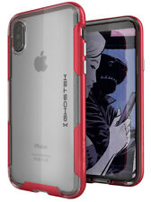 Apple iPhone X 10 Case | Ghostek CLOAK Shockproof Transparent TPU Bumper Cover
