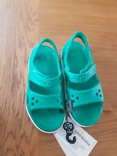 Boys Crocs Green Summer Sandals Size Kids 12