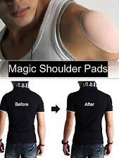 Shoulder Push-up Pads Self Silicone Adhesive Shoulder Enhancer  for Men