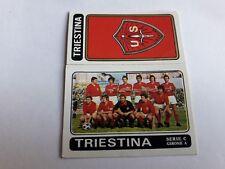 TRIESTINA SCUDETTO+SQUADRA FIGURINA ALBUM CALCIATORI PANINI 1972/73 n°500 rec