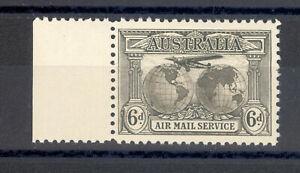 AUSTRALIA SG 139 1931 6d  AIRMAIL STAMP.  MNH