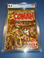 Conan the Barbarian #24 Bronze age 1st Red Sonja Key CGC 8.5 VF+ Beauty Wow