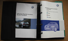 VW PASSAT BLUEMOTION R36 B6 2005-2010 OWNERS MANUAL HANDBOOK WALLET PACK C-472 !