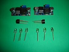 2 Voltage Regulator & 2 Rectifier For G Scale Bachmann Lgb Train And Led Light
