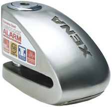 Xena XX-6 Motorcycle Disc Lock with Alarm - Stainless Steel XX6