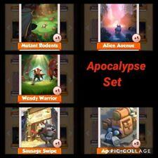 Coin Master Cards Apocalypse 1X Set
