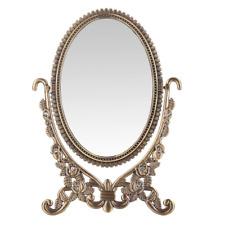 LEJU Makeup Vanity Mirror Decorative Mirrors Framed Vintage Rose Set Tabletop Tw