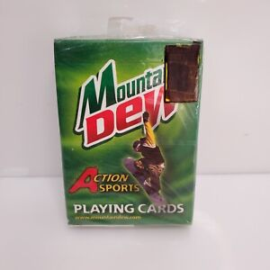 Mountain Dew Action Sports Playing Cards 1371 USA NIP