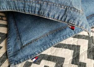 PAIR Tommy HILFIGER Blue Jean/DENIM PILLOW SHAMS/Covers Standard/Full 2 PR Avail