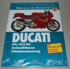 Reparaturanleitung Ducati 600 750 900 SS Zweiventil Motoren Reparatur Buch NEU!