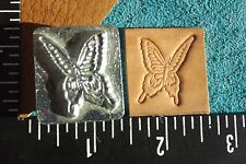 """LEATHER TOOLS/*VTG* CRAFTOOL CO USA 1"""" STAMP**#8335** BUTTERFLY **  ( W-07 )"""