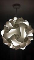 lamp shades light shades lampshade retro ceiling lantern pendant 25cm white uk