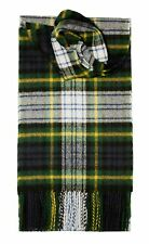 GORDON DRESS TARTAN SCARF 100% LAMBSWOOL  by LOCHCARRON