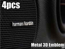 4x Harman Kardon Emblem Schriftzug Logo Badge AMG Chevrolet Mazda Nissan usw.