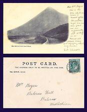 UK SCOTLAND BEN DORAN FROM AUCH BRAE CIRCA 1902 TO MISS ROGER, BALERMO