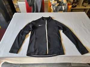 Mens Nike Dri Fit Tracksuit Top/Size S/Black/Good Condition