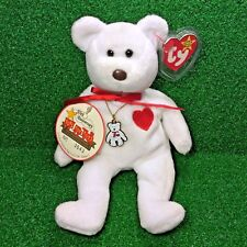 Limited Edition Ty Beanie Baby Valentino The Bear Toys For Tots [1 / 5,500] MWMT