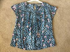 BODEN Silk Mix Summer Top  -  Size 14
