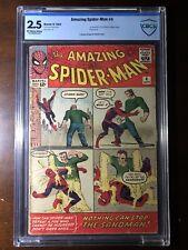 Amazing Spider-Man #4 (1963) - 1st Sandman!  - CBCS 2.5 (not CGC) - Key!