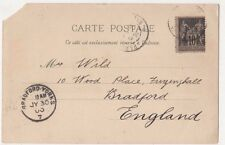 Bradford, Yorks 1900 Postmark on Exposition Postcard, B589