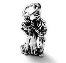 925 Sterling Silver Bride & Groom Charm