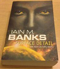 SURFACE DETAIL Iain M Banks Book (Paperback)