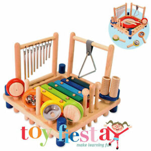 I'm Toy Melody Mix 10 Wooden Musical Fun Activities - Shipped Fast