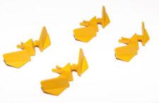 Articles de modélisme ferroviaire jaunes en plastique