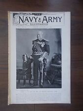 VINTAGE MAGAZINE THE NAVY & ARMY ILLUSTRATED VOLUME 1 No 3 JANUARY 17th 1896
