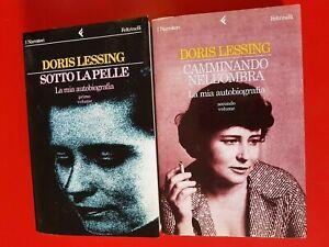 DORIS LESSING: LA MIA AUTOBIOGRAFIA (DUE VOLUMI)