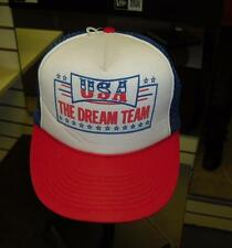 USA Dream Team hat vintage Snapback RaRe Mesh Trucker cap style only one on eBay