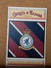 Royal Air force No 70 Squadron Crests & Badges of  the Armed services Postcard