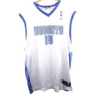 B142 Vintage Reebok Denver Nuggets Carmelo Anthony Jersey Men's Size 2XL