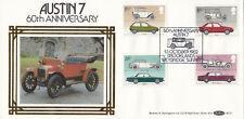 (09592) CLEARANCE GB Benham FDC BLS7 Cars Austin 7 Brooklands 1982