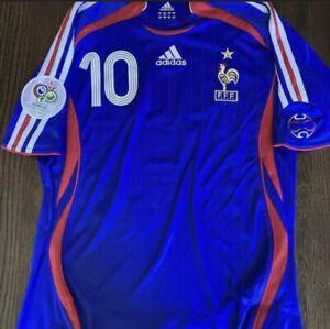 France Zidane Jersey Maillot 2006