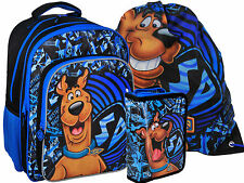 SCOOBY DOO School Set BACKPACK + PENCIL CASE filled + SPORTS SHOE BAG Official