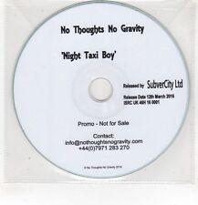 (HF645) No Thoughts No Gravity, Night Taxi Boy - 2016 DJ CD