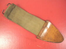 WWI Era US Army M1917 Bolo Knife Canvas Scabbard Cover - Unissued Condition