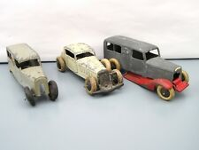 Dinky Toys Pre-War  No. 30f Bentley Ambulance (x2)  + Rare  24d Vogue Saloon