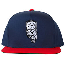 The High Rise Men's Bar Dripper Snapback Hat Red Navy Blue weed bong vape 420