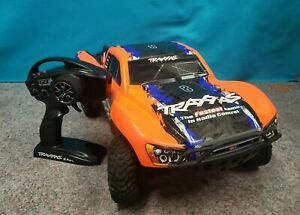 TRAXXAS SLASH 4X4 4WD TSM VXL ORANGE EDITION **NO CHARGER