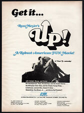 Russ Meyer's__UP!__Original 1976 Trade print AD / movie promo__CANDY SAMPLES