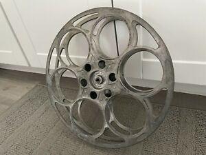 35mm Film 2000 ft. Reel: GOLDBERG VINTAGE ART DECO - Aluminum Metal - 15 inches