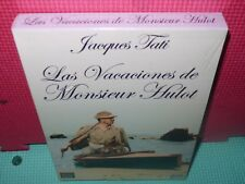 las vacaciones de monsieur hulot - tati - dvd