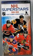 NHL SUPERSTARS  2018-19  2 YEAR POCKET CALENDAR AGENDA PLANNER APPOINTMENT BOOK